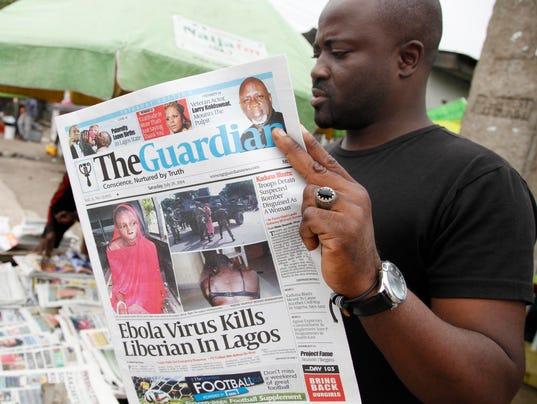 AP Nigeria Ebola