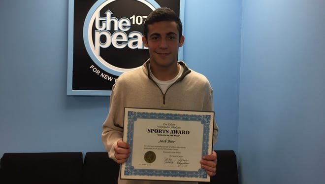 Byram Hills soccer player Jack Beer is the Con Edison Athlete of the Week.