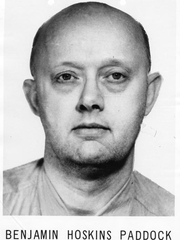 Benjamin Hoskins Paddock, father of the suspected Las Vegas shooter, was on the FBI's most wanted list in 1971 after he was convicted of armed robbery and subsequently escaped from prison.