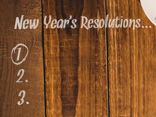 New Year's resolutions To make for your financial health.