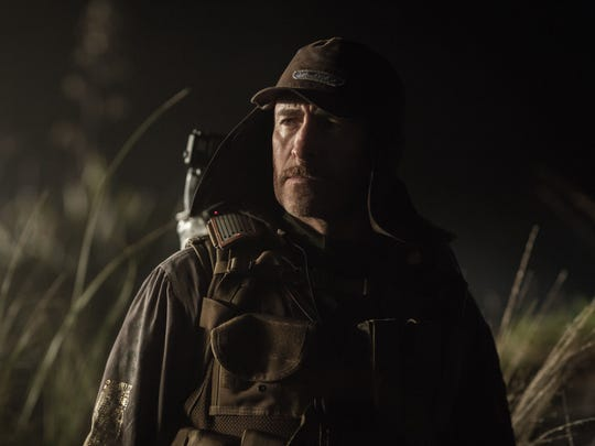 "Lope (Demián Bichir) is a member of the crew in ""Alien:"