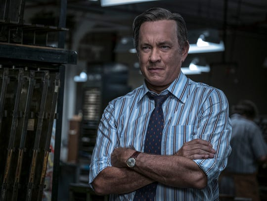 Tom Hanks as Ben Bradlee in 'The Post.'