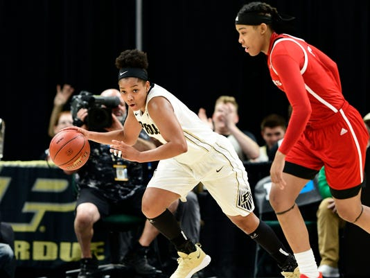 NCAA Womens Basketball: Big Ten Conference Tournament-Purdue vs Rutgers