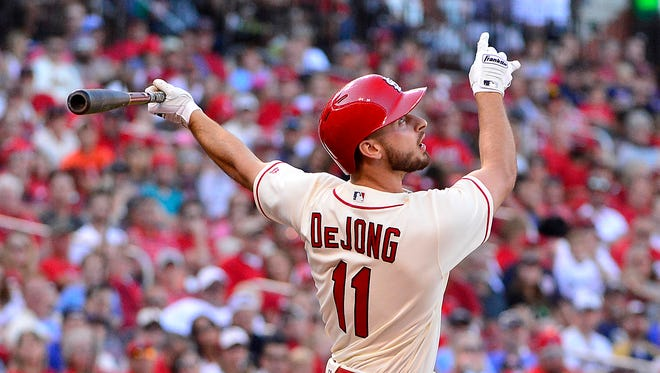 Paul DeJong, 24, hit .285 with 25 home runs, 65 RBI and a team-best .532 slugging pct. in his 108 games.