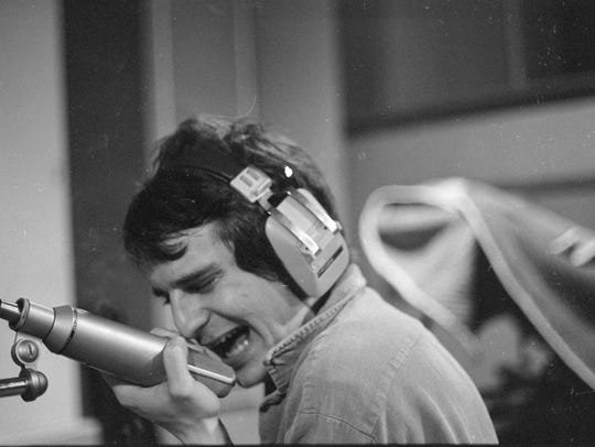 A Pat Rainer photo capturing Alex Chilton working the
