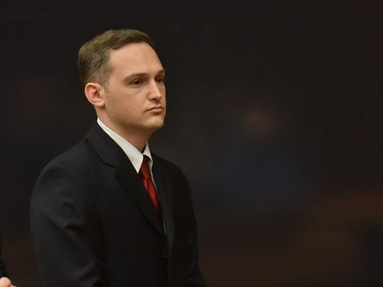 Joseph Ferretti at the sentencing on Friday for his