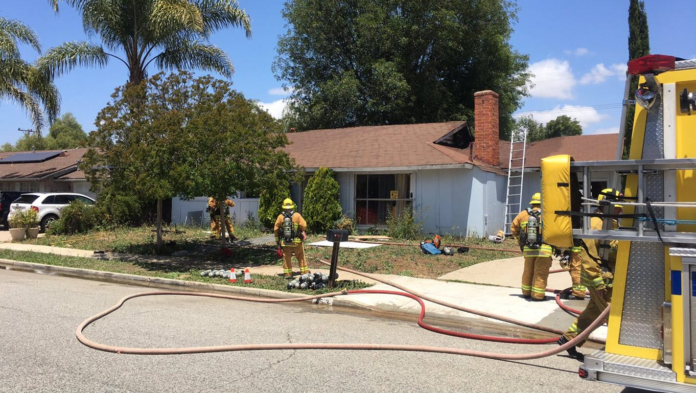 5 Displaced By Attic Fire In Thousand Oaks
