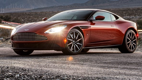 Aston Martin has created  a stunning new sports coupe