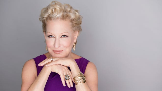 Bette Midler, pictured here, teams up with Darlene Love on 'He's Sure the Boy I Love.'