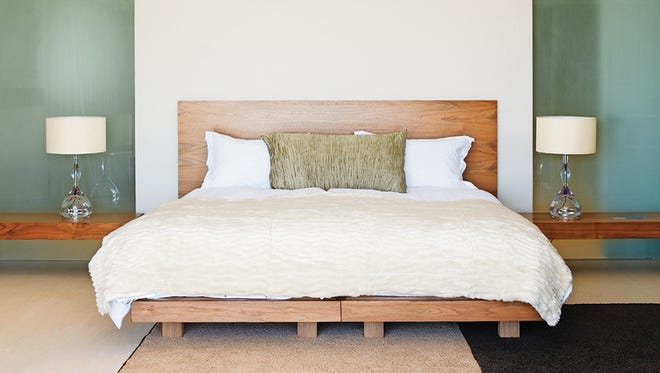 Take advantage of January white sales to stock up on sheets and dress your bed in style