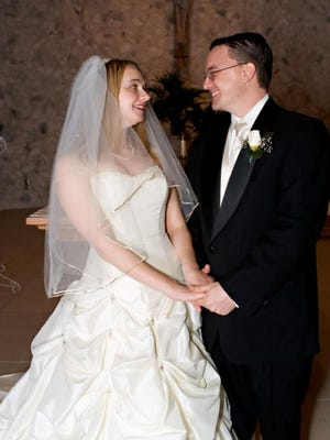 Tim and Charlotte Walters were married Feb. 17, 2007.