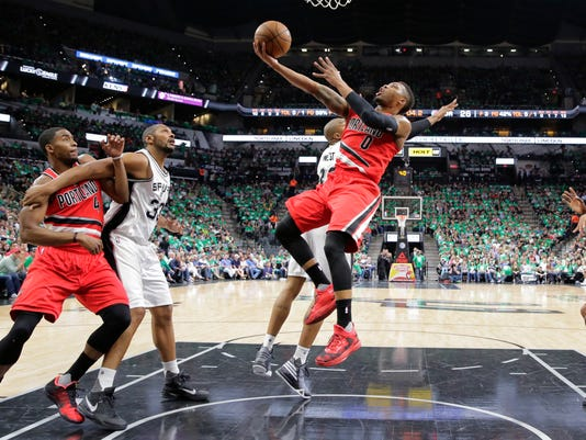 Damian Lillard, David West