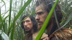 Jesuit missionaries Father Garupe (Adam Driver) and