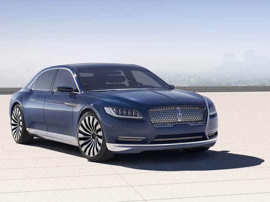 Lincoln Continental rides again for Ford in 2016