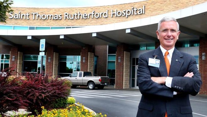 Gordon Ferguson is CEO of Saint Thomas Rutherford Hospital.