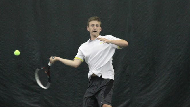 Lexington's Luke Webster, one of only two four-time state qualifiers in the entire tournament, earned second team All-Ohio honors for the second time.