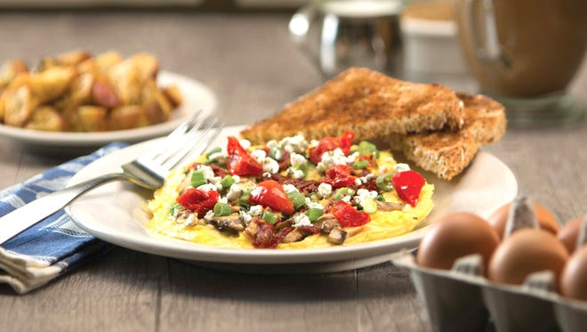 The Three Cheese Frittata from Wildflower Bread Company is available during Arizona Breakfast Weekend.