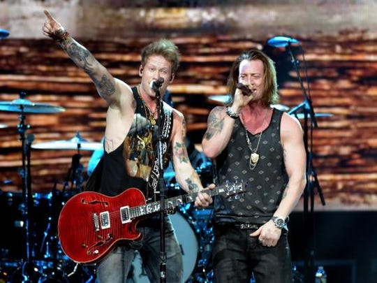 Brian Kelley and Tyler Hubbard of Florida Georgia Line.