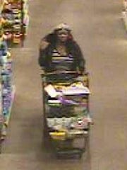 Police are seeking this woman as a suspect in a Jan. 18 pickpocket incident at Wegmans in Cherry Hill.