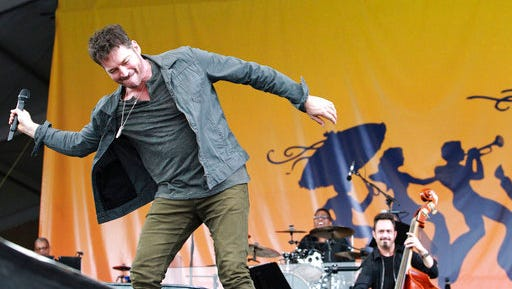 Harry Connick, Jr. peforms during the New Orleans Jazz and Heritage Festival at the Fairgrounds, Friday, April 25, 2017.