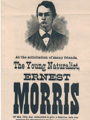 Ernest T. Morris lectured widely about his travels to the Amazon.