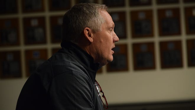 Jeff Casteel will serve as Nevada's defensive coordinator.