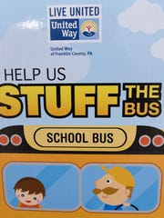 Stuff the Bus, a United Way of Franklin County program,has been collecting school supplies at different locations around the county for children whose families struggle to provide those items for their children.