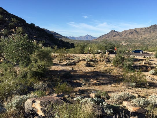 South Mountain Park is Phoenix's most visited.