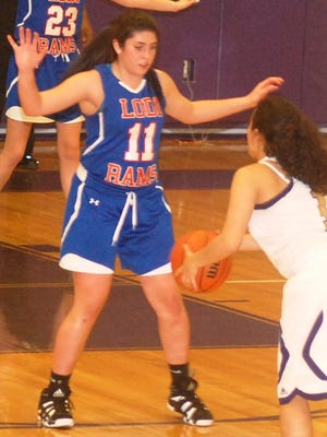 Lodi senior forward Lila Reginald averaged 14 points and eight rebounds per game to lead the squad.