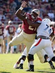 Florida State Seminoles defensive tackle Marvin Wilson