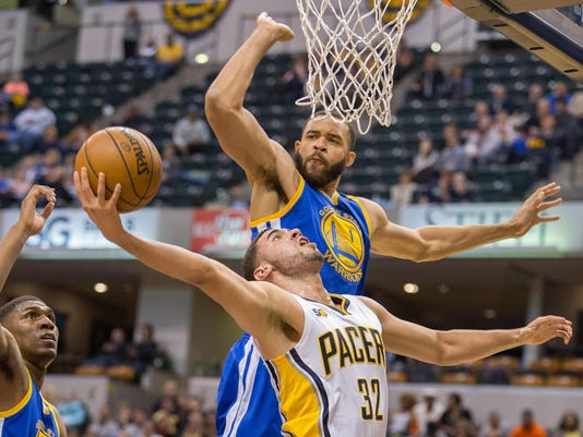 NBA: Golden State Warriors at Indiana Pacers