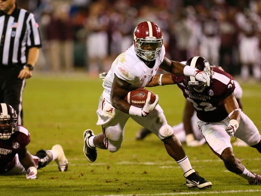 No. 1 Alabama 20, Mississippi State 7