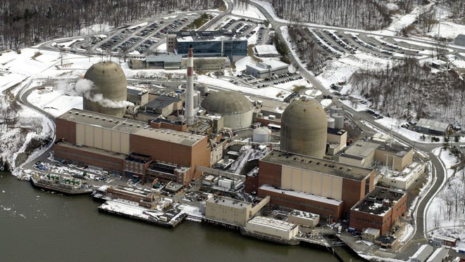 The Indian Point power plant on the shores of the Hudson River in Buchanan.
