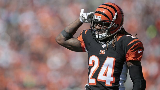 Cincinnati Bengals cornerback Adam Jones fired up his team in a comeback victory Sunday over the Seahawks.