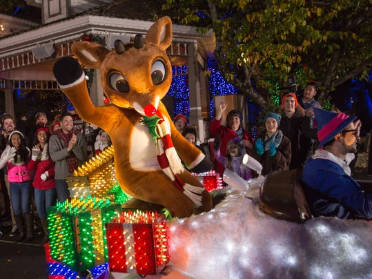 silver dollar city 39 s new 1 million parade features rudolph. Black Bedroom Furniture Sets. Home Design Ideas