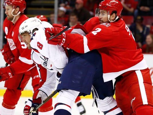 Washington Capitals v Detroit Red Wings