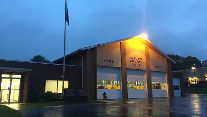 The Augusta County Fire Company 10 station, which sits on Richmond Avenue, within Staunton City limits. Pictured on Wednesday May 24, 2017.