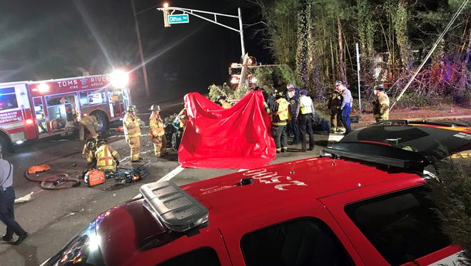 Fatal motor vehicle accident, Toms River