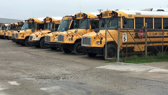 St. Clair County RESA may sell its bus depot at 1520 Busha Highway in Marysville.