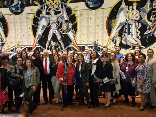 Ramapo Chernobyl Project at U.N.