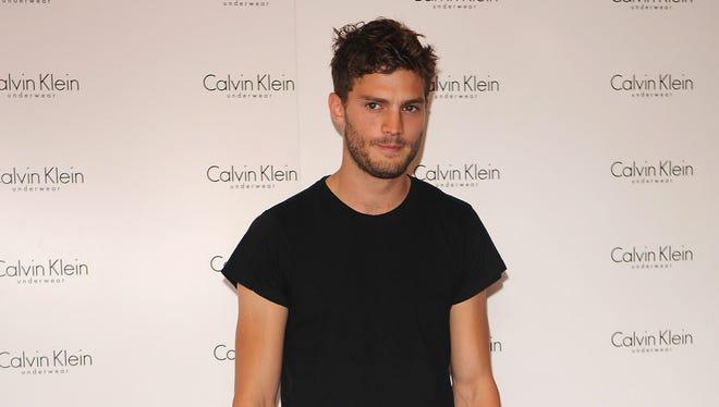 Jamie Dornan was once a Calvin Klein model.
