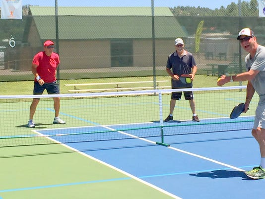pickleball practice