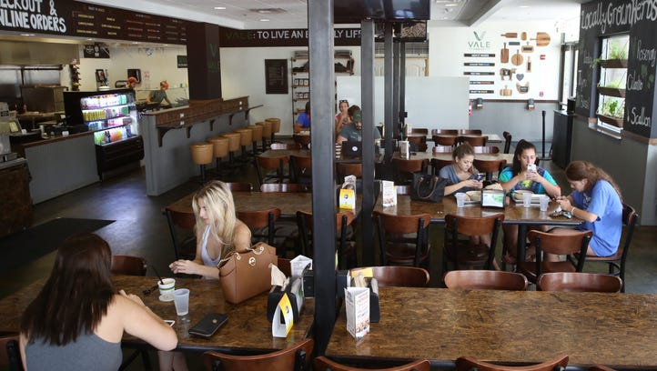 Vale Food Company on Madison Street in the College Town neighborhood, is a new American, fast casual eatery with fresh produce coupled with antibiotic and hormone free meats.
