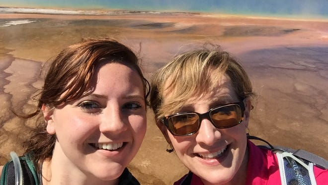 Tribune Outdoors reporter Sarah Dettmer and her mother Thea visited Yellowstone National Park for the first time at the end of June.