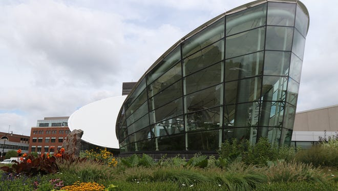 Several windows at the Dancing Wings Butterfly Garden at The Strong National Museum of Play were broken.
