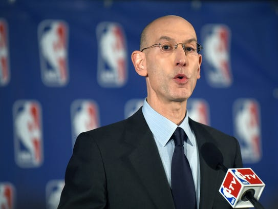 NBA Commissioner Adam Silver has advocated for legalized