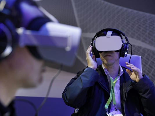 Oculus VR in use