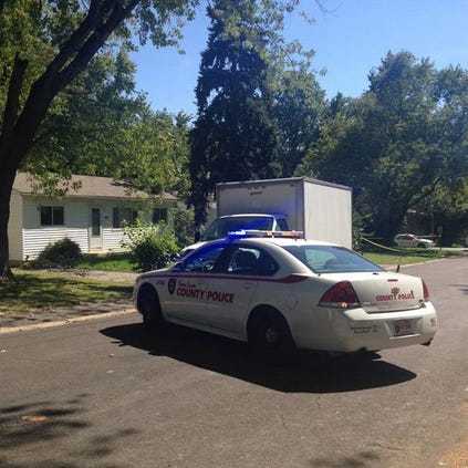 Police say two pipe bombs were found in the basement of a home where an 18-month-old girl died Tuesday morning.