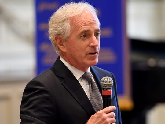 U.S. Sen. Bob Corker elected not to run for re-election in 2016. Phil Bredesen and Marsha Blackburn are vying to replace him.