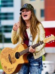 Country singing teen Bernadette Kathryn will perform